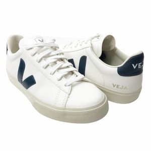 Veja Campo Leather Sneakers White Size 41 EUR US 8